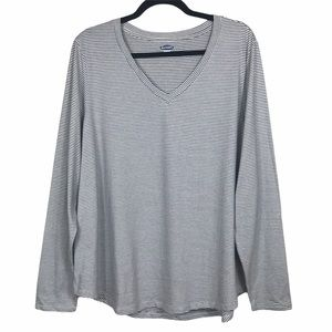 Old Navy 'Everywear' Striped Relaxed Cotton Top